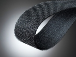 Klettostar® Hook tape - with adhesive 31 - width 50mm - black - 25m